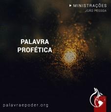 Imagem da ministração - Palavra profética
