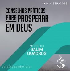 Imagem da ministração - Conselhos Práticos para Prosperar em Deus