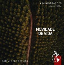 Imagem da ministração - Novidade de VIDA
