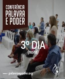 Album - Conferência Palavra e Poder - 3º Dia (noite)
