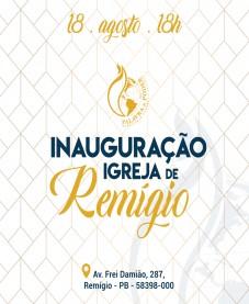 Album - Inauguração - Igreja de Remigio
