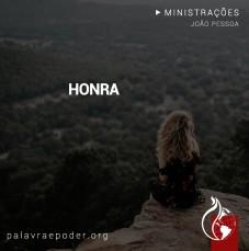 Imagem da ministração - Honra