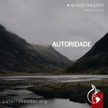 Imagem da ministração - Autoridade