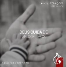 Imagem da ministração - Deus cuida de seus filhos
