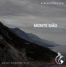Imagem da ministração - Monte Sião