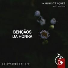 Imagem da ministração - Bençãos da Honra