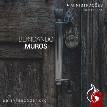 Imagem da ministração - Blindando Muros
