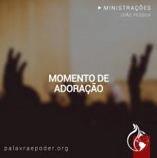 Imagem da ministração - Momento de Adoração