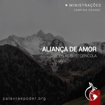 Imagem da ministração - Aliança de Amor