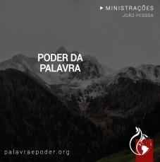 Imagem da ministração - Poder da Palavra