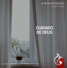 Imagem da ministração - Cuidado de Deus