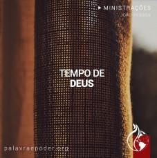 Imagem da ministração - Tempo de Deus
