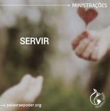 Imagem da ministração - Servir