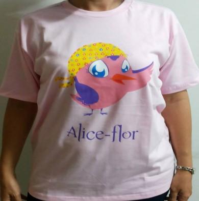 Produto - Camisa Alice Flôr